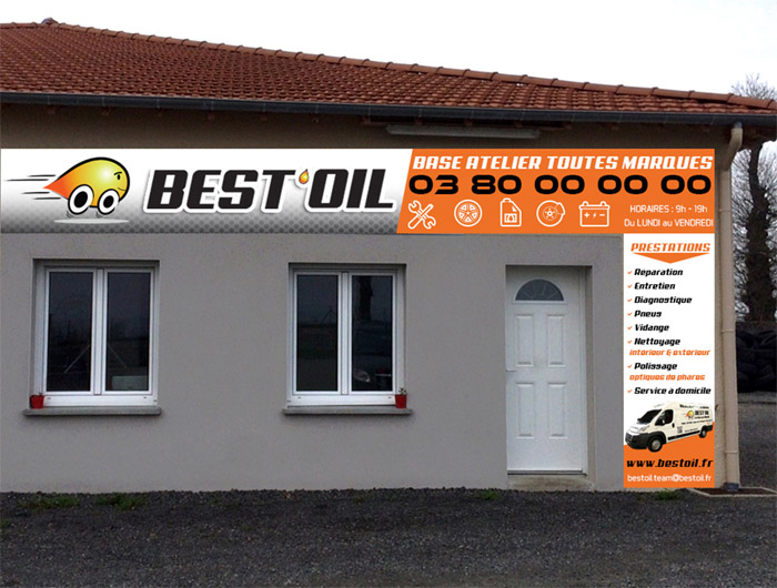 bureau garage best oil