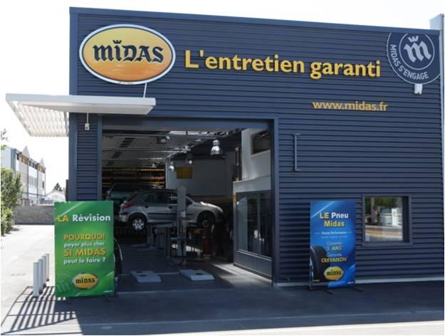 Franchise midas ouvrir une franchise garage centre auto for Garage midas strasbourg
